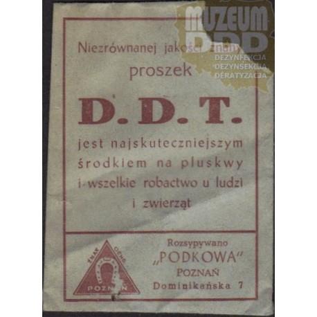 """OPAKOWANIE PAPIEROWE PO PREPARACIE """"DDT"""""""