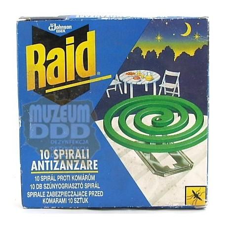 RAID SPIRALE OWADOBÓJCZE Z 1997 roku